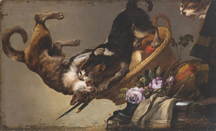 still-life-with-fighting-cats-workshop-of-frans-snyders